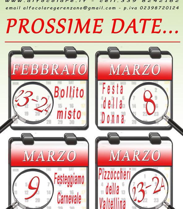 Prossime Date